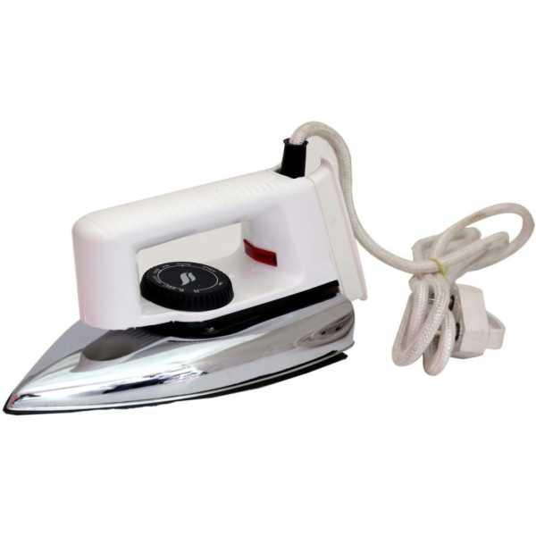 Speed waves Popular SW2 750W Dry Iron - White