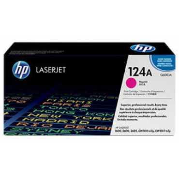 HP 124A Magenta LaserJet Toner Cartridge - Pink