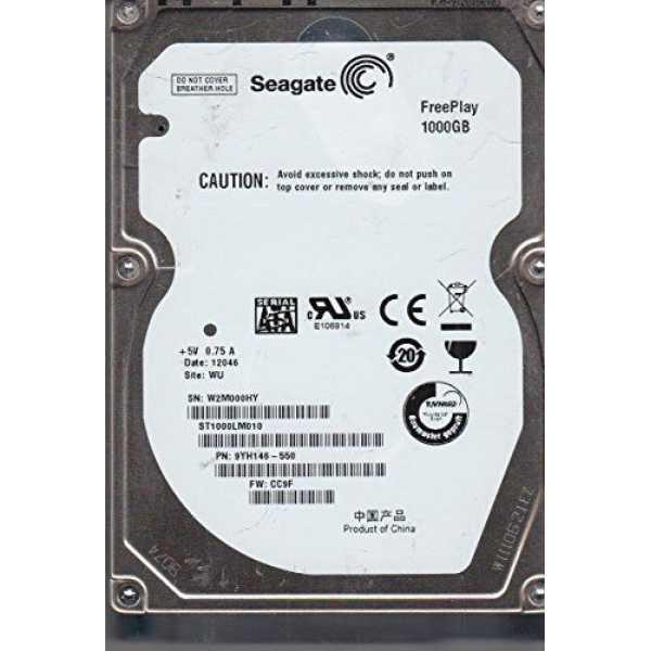 Seagate (ST1000LM010) 1TB SATA 2.5 Inch Internal Hard Drive