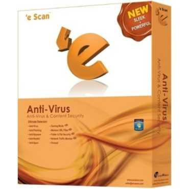 eScan AntiVirus 3 PC 1 Year