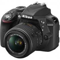 Nikon D3300 with AF-S 18-55 mm VR II Kit Lens DSLR