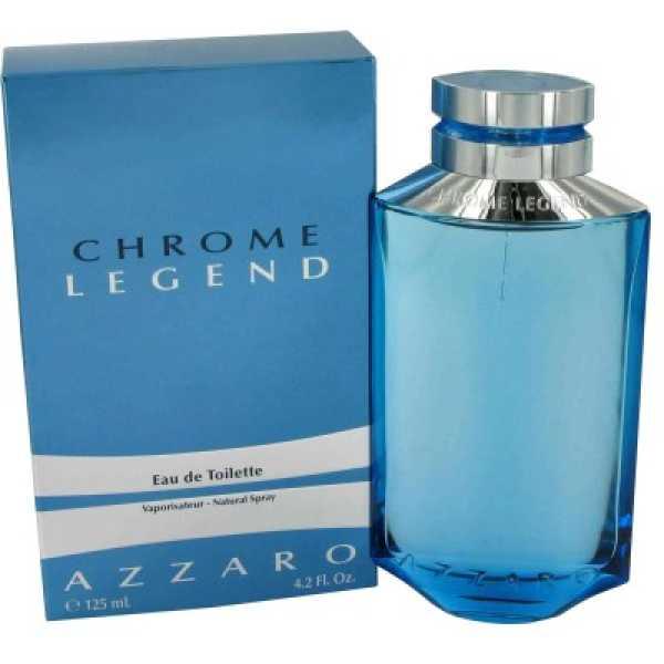 Azzaro Chrome Legend EDT - 125 ml - Silver
