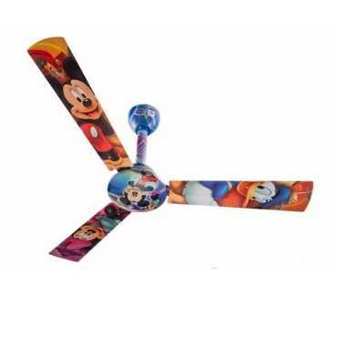 Bajaj Disney MD-01 3 Balde (1200mm) Ceiling Fan - Multi Color