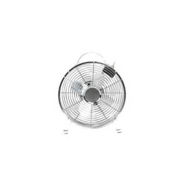 Anemos Clock Fan Table Fan - Steel | White