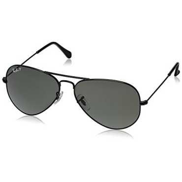 Aviator Sunglasses Black RB3025 002 58 58