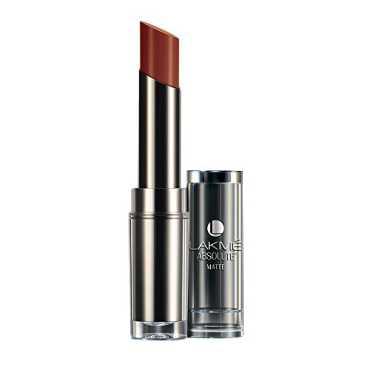 Lakme Absolute Matte Lipstick Coco Shot