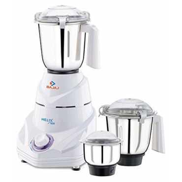 Bajaj Helix New 750W Mixer Grinder (3 Jars) - White