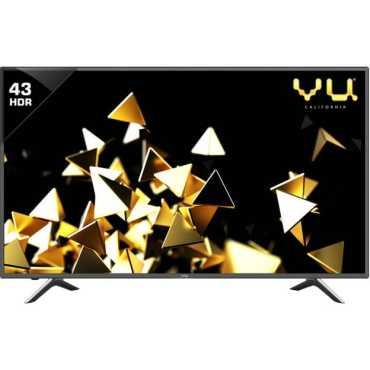 Vu 9043U 43 Inch 4K Ultra HD Smart LED TV - Black