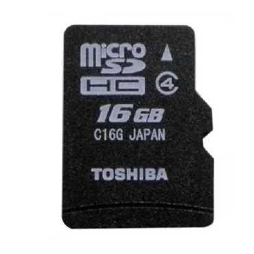 Toshiba 16GB MicroSDHC Class 4 15MB s Memory Card