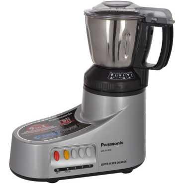 Panasonic MX AC 400 550W Mixer Grinder - Black   Silver   White