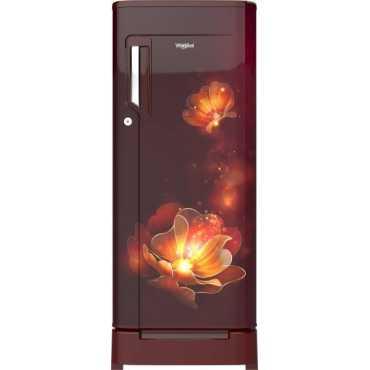 Whirlpool 205 IceMagic Powercool Roy 190L 5S Single Door Refrigerator (Wine Radiance)