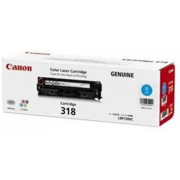 Canon 318 Cyan Toner Cartridge - Black