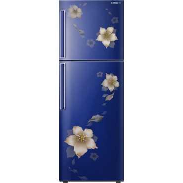Samsung RT28K3343U2 253 L 3 Star Inverter Frost Free Double Door Refrigerator (Star Flower) - Star Flower Blue