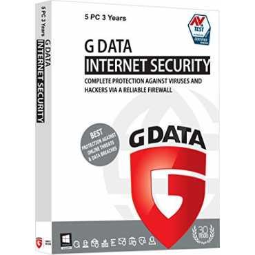 G Data Internet Security 2017 5 PC 3 Year Antivirus