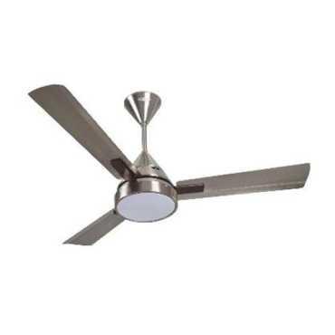 Orient Spectra 3 Blade (1200mm) Ceiling Fan - Silver   Brown   Yellow   Blue   Steel