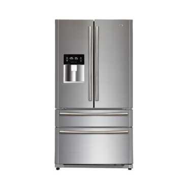 Haier HRF708FF SS 629 Liter Side By Side Refrigerator