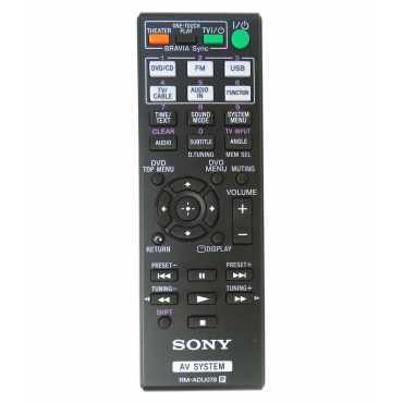Sony RM-ADU078 Sony AV/Home Theater Remote Control