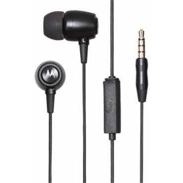 Motorola Earbuds Metal Wired Headset - Gold | Black