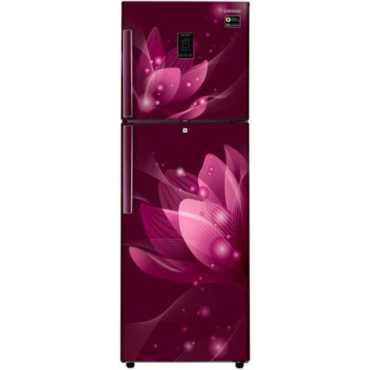 Samsung RT34M5438R8 324 L 3 Star Frost Free Double Door Inverter Refrigerator (Saffron) - Red | Blue