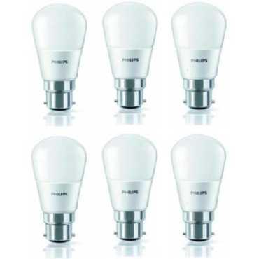 Philips 4W 350L LED Bulb White Pack of 6