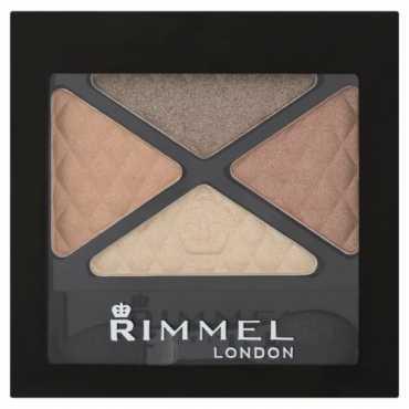 Rimmel London Glam Eyes Quad Eye Shadow (Sun Safari)