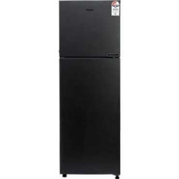 Haier HRF-2783BKS-E 258 L 3 Star Frost Free Double Door Refrigerator