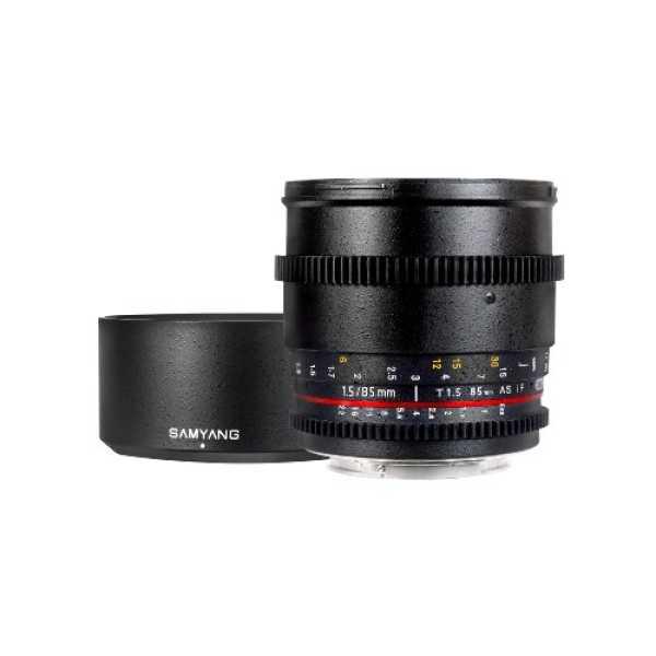 Samyang SYCV85M-S 85mm T1 5 Cine Lens For Sony Alpha