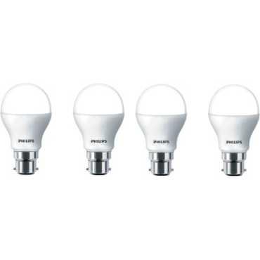 Philips 2.7 W LED Bulb B22 White (pack of 4) - White