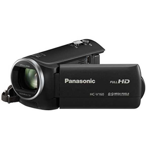 Panasonic HC-V160 HD Camcorder - Black