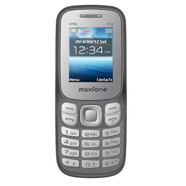 Maxfone Opal O12  - Grey | Black
