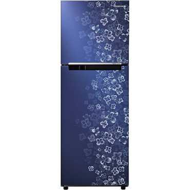 Samsung RT27JARMAVL 253 Litres Double Door Refrigerator (Lilac Steel) - Steel | Silver