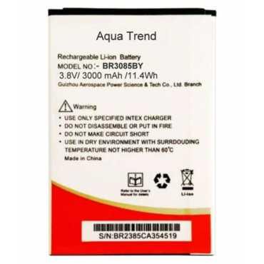 Intex 3000mAh Battery (For Intex Aqua Trend)