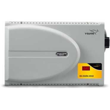 V-Guard ID4 Dura 2040 Voltage Stabilizer - Grey