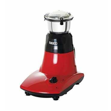 Usha Supreme 800W Mixer Grinder (3 Jars) - Red