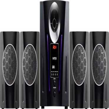 Intex IT 2650 DIGI PLUS FMUB 4.1 Channel Multimedia Speaker - Black