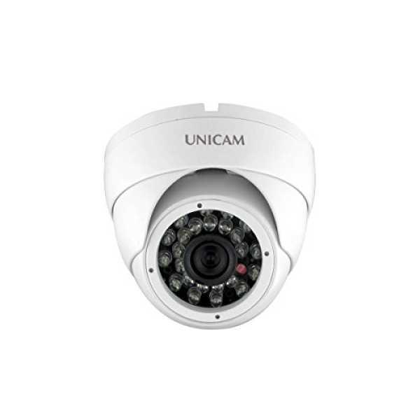 Unicam UC-HDIS92IR 900TVL 3.6mm Lens Dome Camera