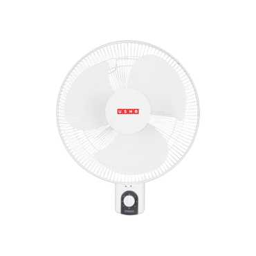 Usha Helix Hi Speed 3 Blade (400mm) Wall Fan - White