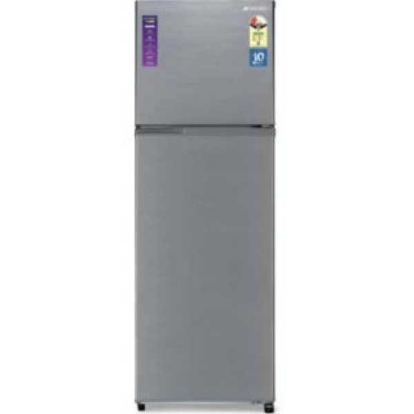 Sansui 310JF2SNDS 308 L 2 Star Inverter Frost Free Double Door Refrigerator