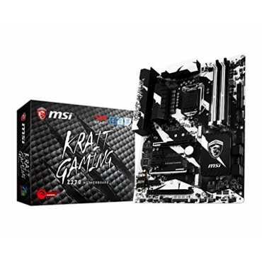 MSI Z270 Krait Gaming Motherboard - Black