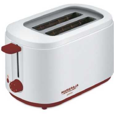 Maharaja Whiteline Primo PT-100 Pop up Toaster - Red   White