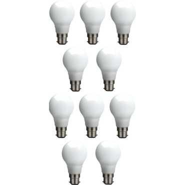 Syska SSK-QA0602 5W LED Bulb White Pack of 10