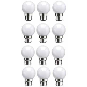 Syska 0 5W Standard B22 45L LED Bulb White Pack of 12