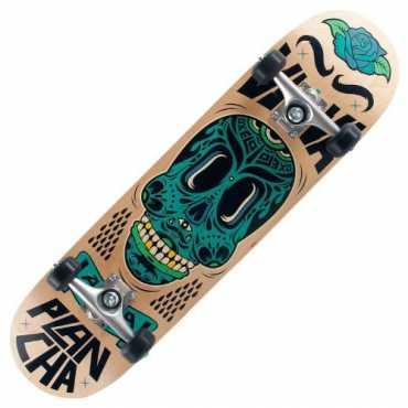 Oxelo Mid-Plancha-Wood Child Skateboard