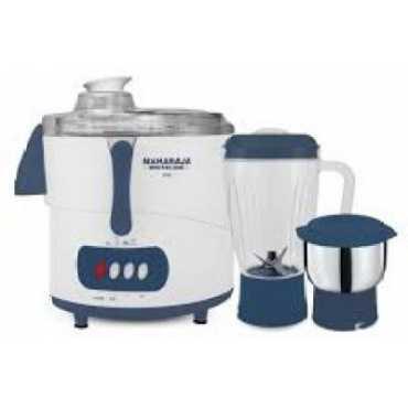 Maharaja Whiteline Uno 450W Juicer Mixer Grinder - Blue