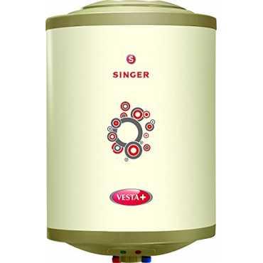 Singer Vesta Plus 10L Storage Water Geyser - White