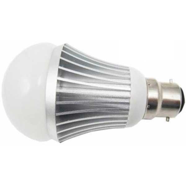 IPP 7W B22 Aluminium Body White LED Bulb