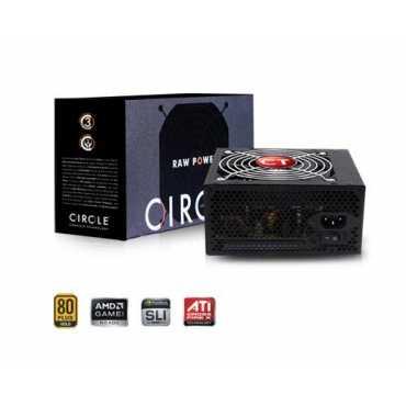 Circle ATX Version 2.31 Raw Power 450 Watt Power Supply - Black