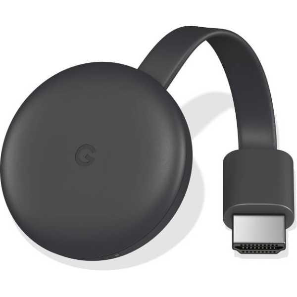 Google Chromecast 3 Media Streaming Device - Black