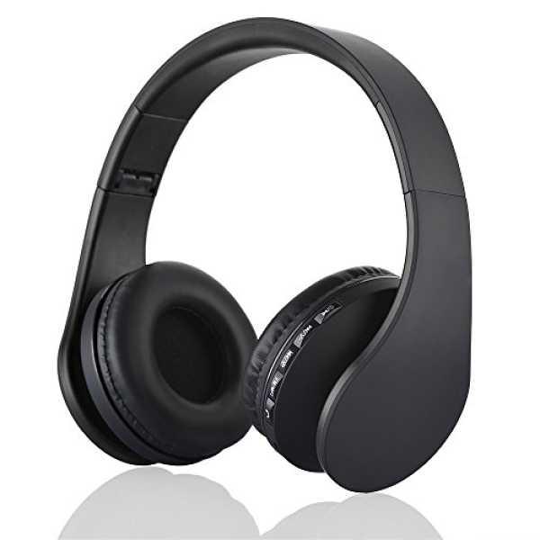 Acid Eye LH-811 Bluetooth Headset - Black   Blue   Green