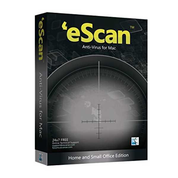 eScan AntiVirus for Mac 3 Users 2 Years
